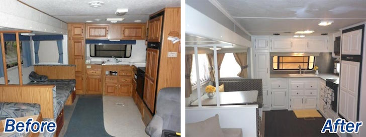 rv interior decor kitchen