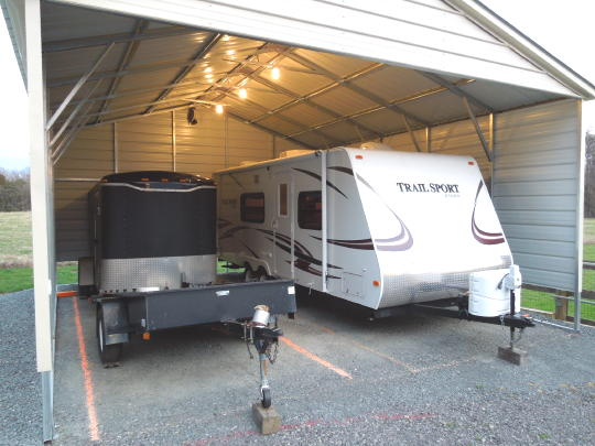 1 Simple Trick To Protect Your Outdoor Rv Storage Port