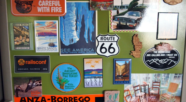 How to Make Your RV Fridge Magnetic. It's Easy and Nobody Will Have One Like It.