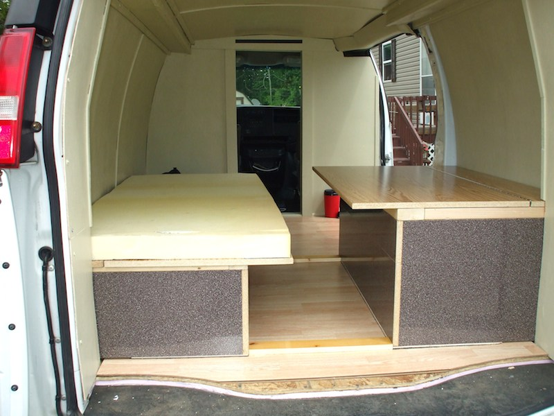How To Add A Bed To Your Stealth Van Camper