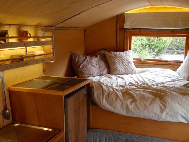 Homemade Truck Camper Inside on Rv Storage Bathroom