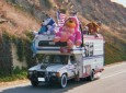 The Owner of This Toyota Motorhome Must Really, REALLY Like Stuffed Animals. And He's Not Afraid to Show It.