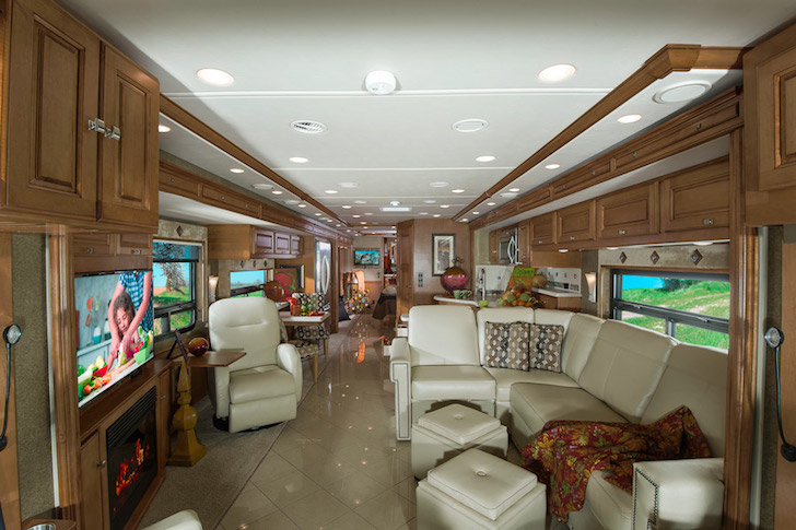 Susan Boyle Tours The US In A Fancy Winnebago RV