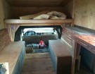 This Cozy Homemade Truck Camper Is Perfect For Winter Camping.