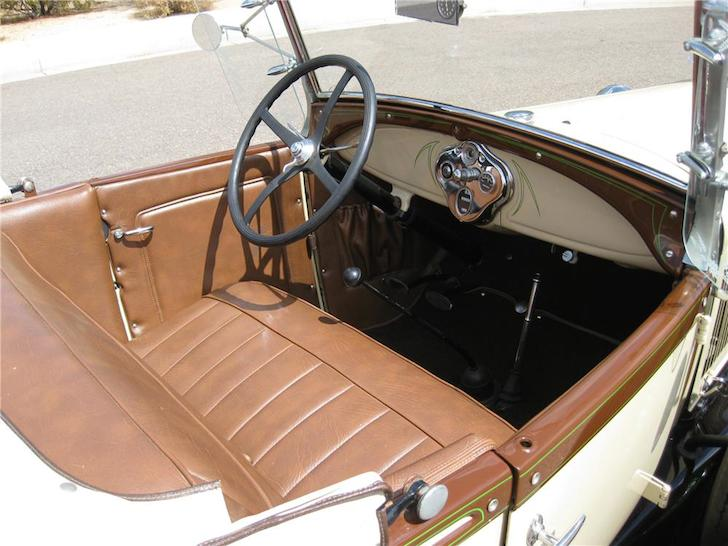 1929 Ford Model A Roadster With A Vintage 1959 Teardrop