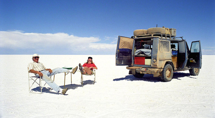 This Adventurous Couple Took a 23 Year Road Trip in the SAME Car Camper.