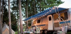 See This Vintage Airstream Transformed Into a Beautiful Getaway For Family of 5.