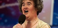 Susan Boyle Makes Her First Tour of the United States in a Winnebago. And It's Fancier Than Her House in England.