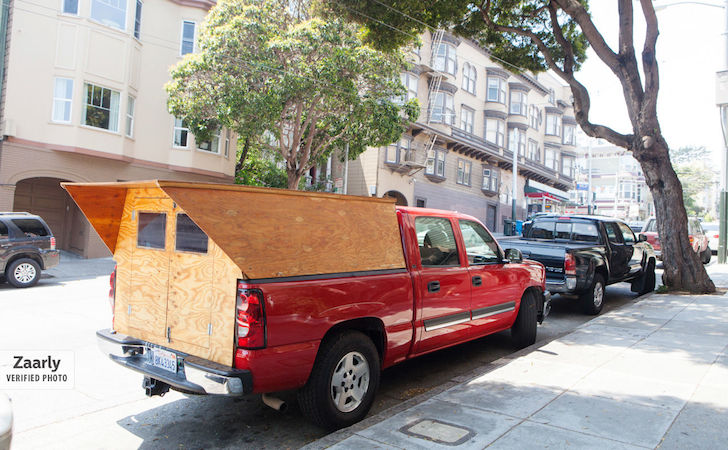 A Handyman Made His Own Custom Wooden Truck Camper