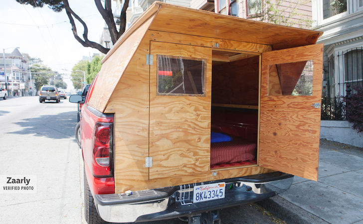 Handyman Made His Own Custom Wooden Truck Camper. He'll Make One ...