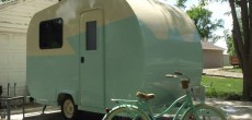 Couple Turns Moldy Pop Up Camper Into Beautiful Custom Trailer.