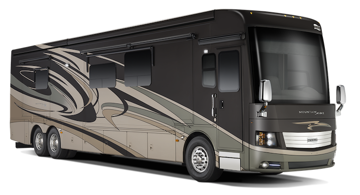 The New 2015 44′ Newmar Mountain Aire Showcases The Beauty Of Amish Design