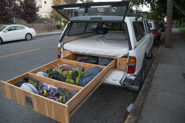 Could This Be The Ultimate Space-Saving Truck Camper