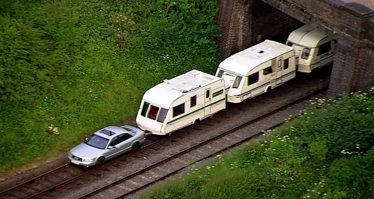 What Train Travel Would Be Like If Train Cars Were Campers