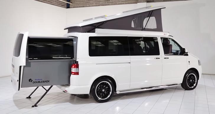 New And Improved Danbury Doubleback Volkswagen Campervan Will Make Your Jaw Drop [VIDEO]