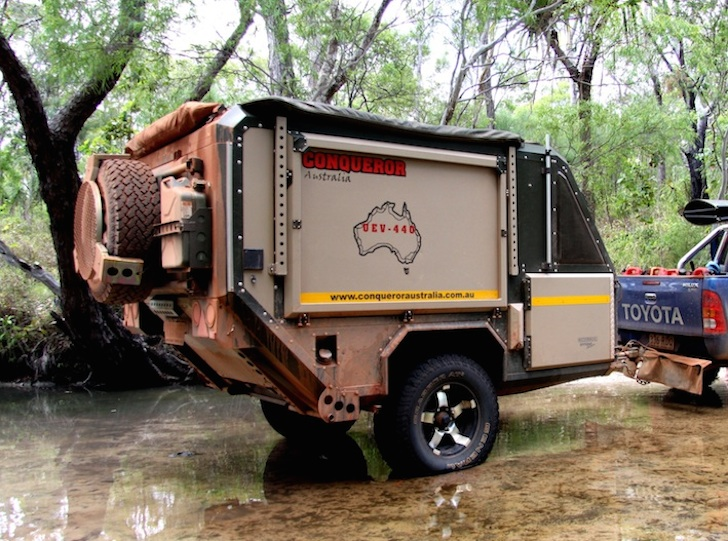 Amazing Conqueror Australia Makes Some Spectacular OffRoad Camping Trailers
