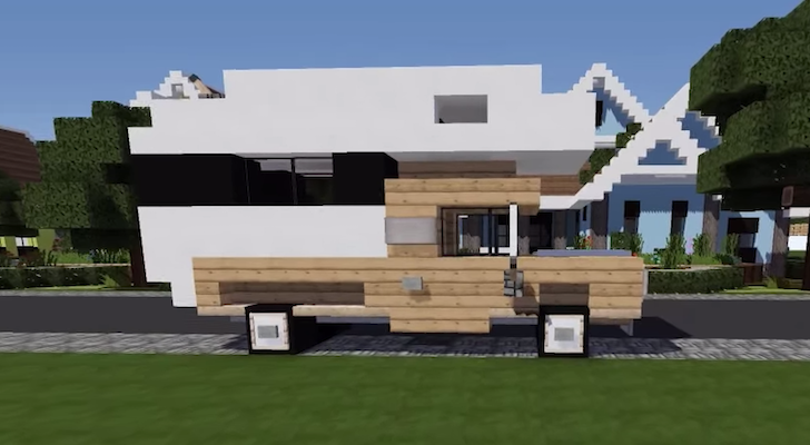 How To Build A Truck Camper In Minecraft: Complete Tutorial [VIDEO]