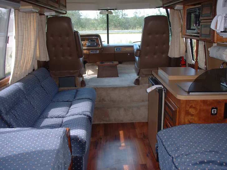 See This Immaculate 1977 Gmc Birchaven Motorhome