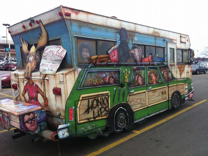 Beautiful MEDINA, Ohio  A Dilapidated Recreational Vehicle That Played A Memorable Role In A Beloved Christmas Movie Has Been Vandalized At An Ohio Museum The Owner Of The Castle Noel Museum In Medina, Just South Of Cleveland, Reports That