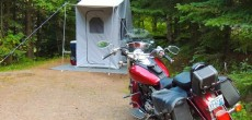 Roadman Campers Makes Motorcycle Trailers For Camping