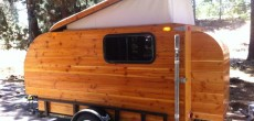 Here Is A Self-Made Pop-Up Camper Built From Douglas Fir