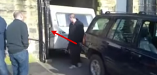 Here Is The Wrong Way To Proceed When Your Trailer Gets Stuck In A Tight Spot [VIDEO]