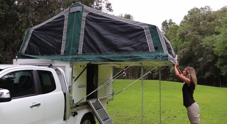 This Dual-Cab Model By Trayon Campers' Will Bring Out The Explorer In You