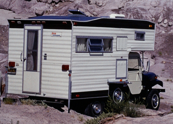 this cj5 jeep camper nearly tumbled off of a cliff in arizona. Black Bedroom Furniture Sets. Home Design Ideas