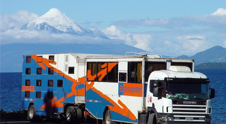 The Exploranter Overland Hotel Might Have Been The Biggest Mobile Hotel In The World