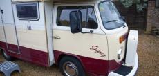 Rare 1978 Volkswagen Transporter Karmann Gipsy Motorhome