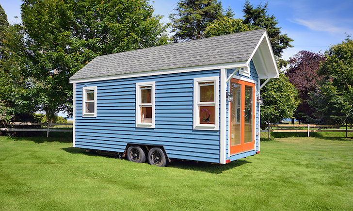 160 sq ft poco edition tiny home from tiny living inc for Small homes built on trailers