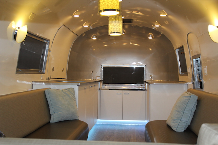 Mobile Bar Made From A 1960 Airstream Flying Cloud Trailer