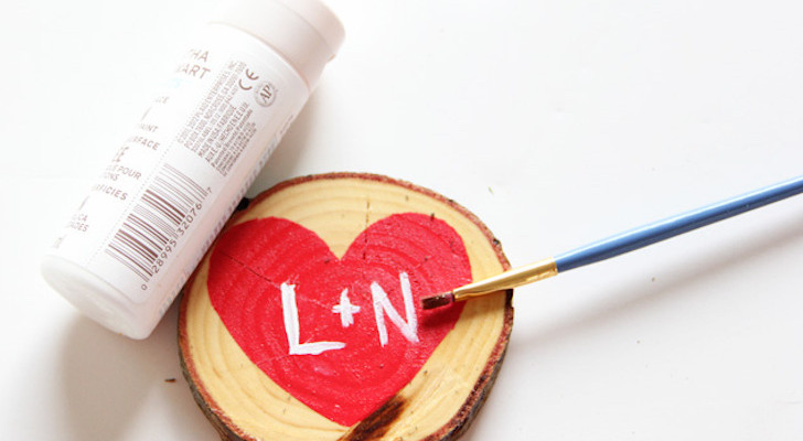 How To Make Valentine's Day Themed DIY Heart Coasters
