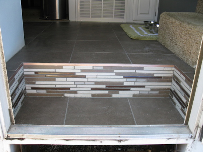 Diy nature inspired rv renovation for Diy kitchen remodel steps