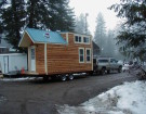 This Mobile Tiny House Looks Like A Cabin Inside And Out