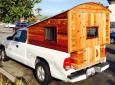 Homemade Truck Camper Spotted In San Rafael, California [Photo]