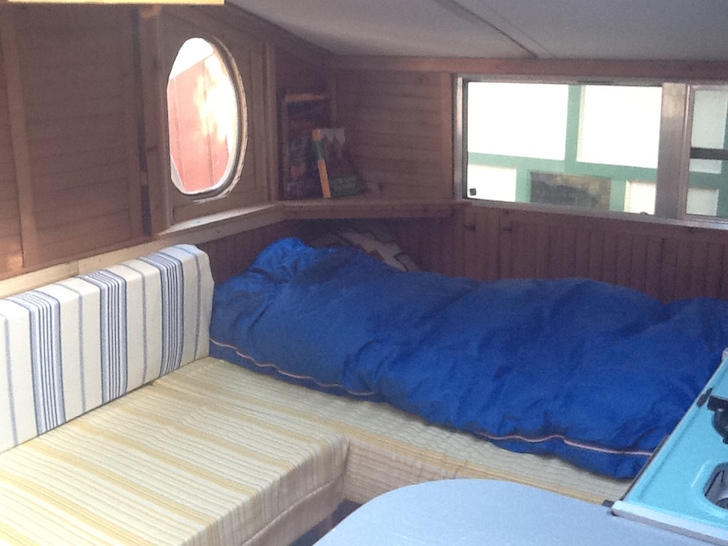 Diy Truck Camper Made From Reclaimed Materials