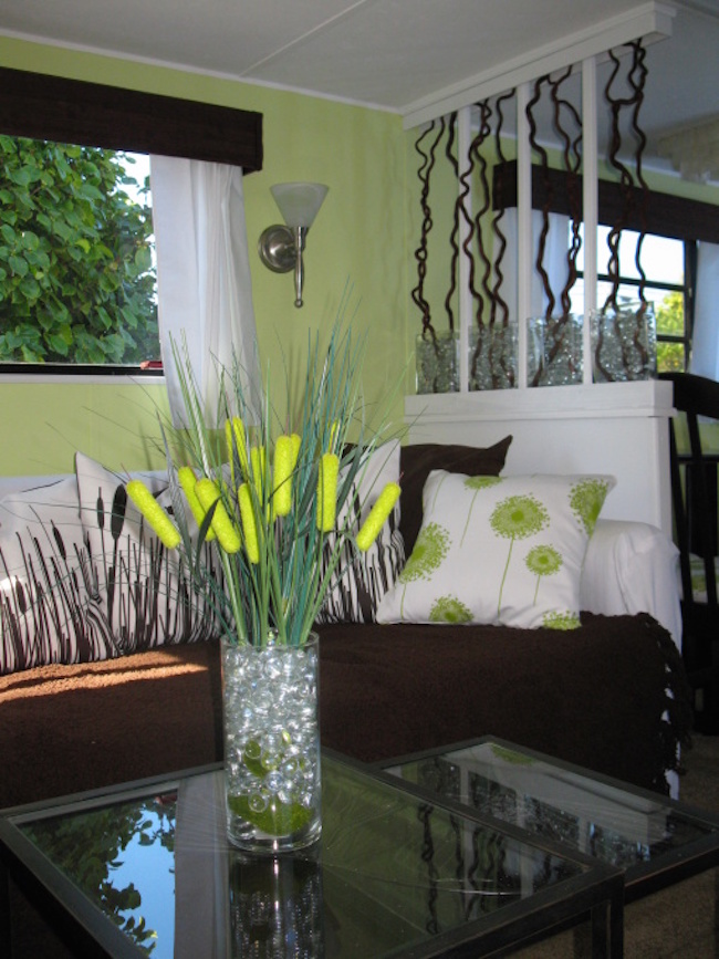 Diy nature inspired rv renovation for Nature inspired interior decorating