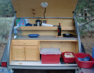 What Should You Pack In A Teardrop Trailer's Galley Kitchen?
