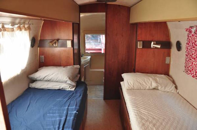 New 1975 Aljo Travel Trailer 2639Twin Beds Good Condition  For Sale In