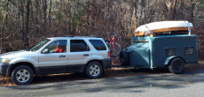 Homemade DIY Camper Trailer Goes To RV Rehab