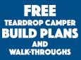 Best Free Teardrop Trailer Camper Plans And Walk-Throughs