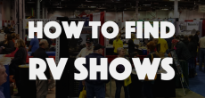 How To Find The Next RV Show In Your Area: United States And Canada