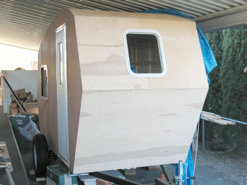 Build a 1 400 lb stand up camper for under 4 000 for Rv house plans