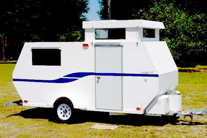 Build a 1400 lb Stand Up Camper for under 4000