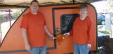 Adorable Couple Shares Photos Of Their Teardrop Camping Lifestyle