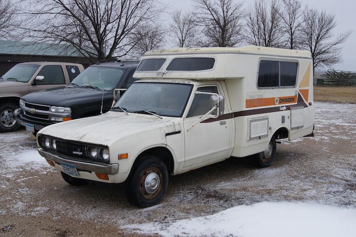 Datsun Motorhome?!?! THEY DO EXIST!!!!! (1984 720 mini ...