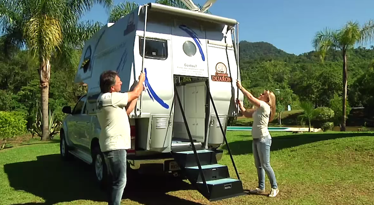Stunningly Simple Brazilian Truck Camper Called The Camper Duaron
