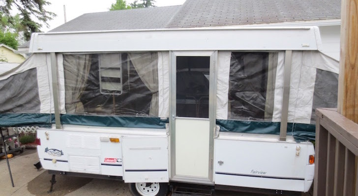 How To Renovate A Pop Up Trailer For Under $100