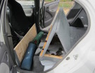 Car Camping Made Easy With This Folding Rear Seat Mod